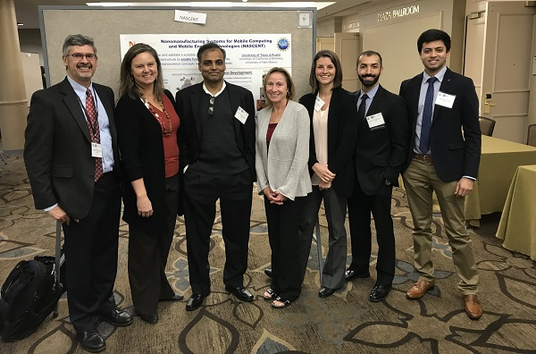 Photo of NASCENT Students and Leadership Team attending the NSF Biennial Meeting in 2017